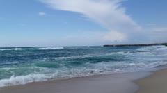 Sea waves Stock Footage