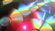 Stock Video Footage of Cd laser