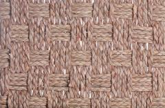 Basket weave texture Stock Photos
