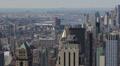Aerial View, New York City, Brooklyn, Manhattan Bridge, East River, Skyscrapers Footage