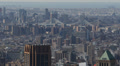 Manhattan Bridge, Aerial View, New York City, Brooklyn, East River, Skyscrapers Footage