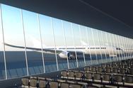 Airport. Stock Illustration
