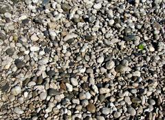The texture of the beautiful sea pebbles - stock photo