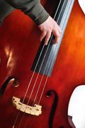 Upright bass Stock Photos