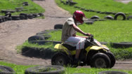 Stock Video Footage of ATV, All Terrain Vehicles, 4x4 Motor Sports, Quads, Dirt