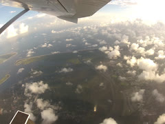 View from Plane 0 Stock Footage