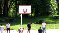 Basketball, Sports, Athletics - stock footage