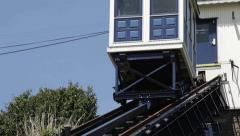 Funicular Railway: descending Stock Footage