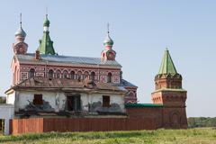Stock Photo of old historical monastery of christianity