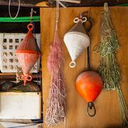 Fisherman warehouse Stock Photos