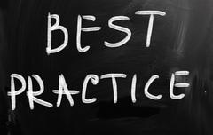 best practice - stock illustration