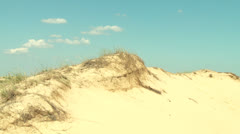 Sandy desert Stock Footage