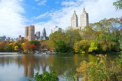 New york city central park in autumn Stock Photos