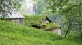 Small mountain farm Norway Footage