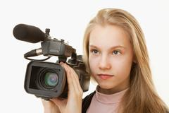 Stock Photo of camera operator