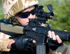 British soldier Stock Photos