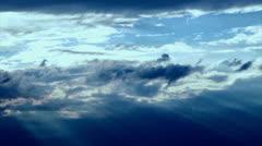 Nimbus storm clouds Stock Footage
