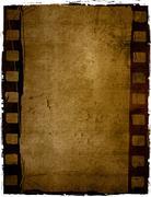 Grunge film frame effect Stock Photos