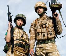 Royal Commandos Stock Photos