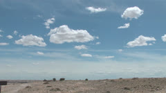 Clouds in an Arizona sky time lapse Stock Footage
