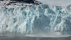 Margerie Glacier tidewater calving Glacier Bay pt 2 HD 1380 Stock Footage