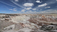 Stock Video Footage of Arizona Petrified Forest at Blue Mesa