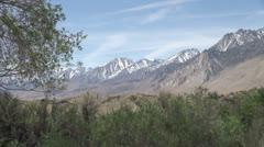 California Sierra Nevada Stock Footage