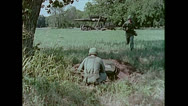 Stock Video Footage of US Artillery Guided Missile Sergeant Aiming 02