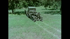 US Artillery Guided Missile Sergeant Setup 01 - stock footage