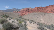 Stock Video Footage of Nevada Red Rock Canyon view