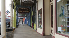 Nevada Virginia City Stock Footage