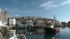 Mevagissey, Cornwall, UK Stock Footage
