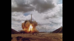 US Ohjukset Missile Start 03 Arkistovideo