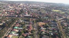 East Rand Aerial Helicopter shot, South Africa PAL Stock Footage