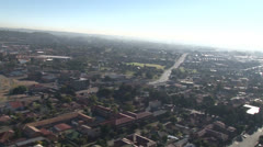 Johannesburg Aerial Helicopter Smog South Africa PAL Stock Footage