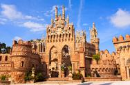 Stock Photo of colomares castle in benalmadena, spain