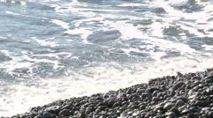 Sea Surf with original sound Stock Footage