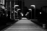 Street at night Stock Photos