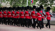 Stock Video Footage of Queen's Birthday rehearsal Parade