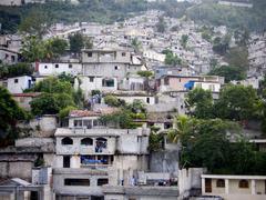 Favellas in haiti Stock Photos