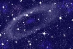 Triangulum galaxy . Stock Photos