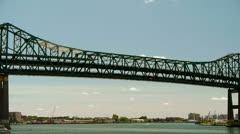 Tobin Bridge Boston Stock Footage