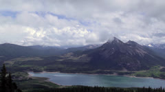 Barrier Lake, Alberta Stock Footage
