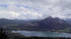 Barrier Lake, Alberta - stock footage