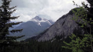Stock Video Footage of Kananaskis Mountain