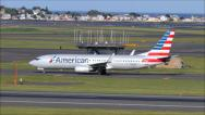 Stock Video Footage of American Airlines New Livery
