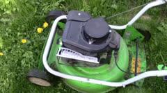 Lawn-mower Stock Footage