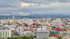 Time Lapse of Pattaya Town - stock footage