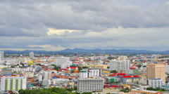 Time Lapse of Pattaya Town Stock Footage