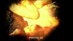 Fire Photo Presentation - stock after effects